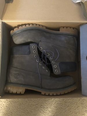 Grey suede timberlands for Sale in Pittsburgh, PA