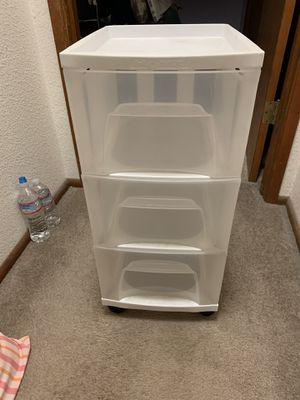 3- drawer rolling bin for Sale in Hayward, CA