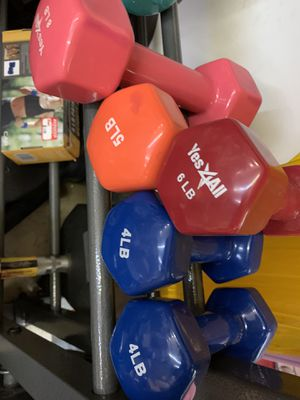 Dumbbells $.80 per Lbs for Sale in Norfolk, VA