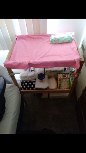Baby changing Table! (Like New!) for Sale in Lewisville, TX