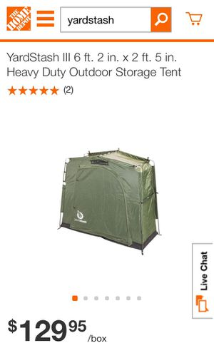 Yardstash Portable Storage Tent for Sale in Fullerton, CA