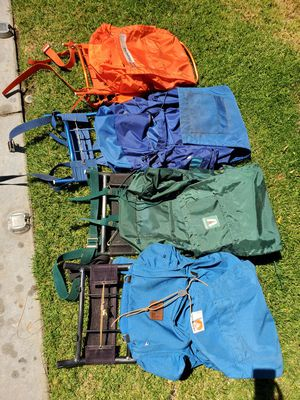 External Frame Hiking Backpacks for Sale in Upland, CA