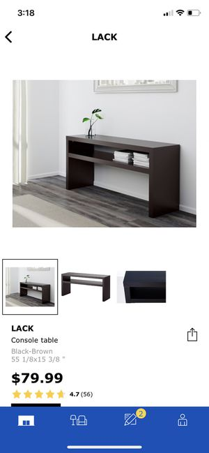 Ikea Side Console Table (brown) for Sale in Washington, DC