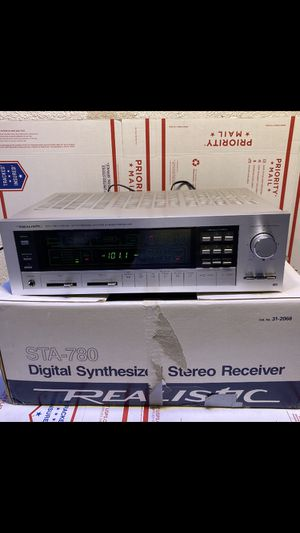Realistic STA-780 Digital Synthesized AM\FM Stereo Receiver CLEAN New Open Box for Sale in Hatfield, PA