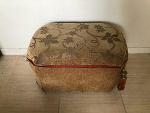 Retro vintage nostalgic style ottoman furniture piece for Sale in Seminole, FL