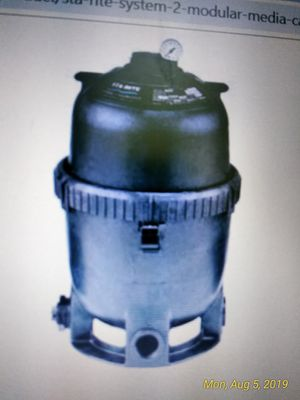 Pool filter, tank, shot off valve for Sale in Point Judith, RI