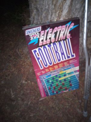 Electric football from 90s for Sale in Ontario, CA