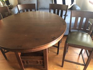 wood table with chairs for Sale in San Jose, CA