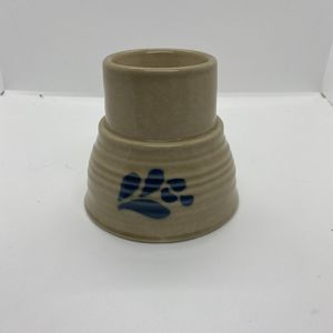 Vintage Pfaltzgraff Folk Art Hurricane Lamp (Bottom Only) USA Stoneware for Sale in Athens, GA