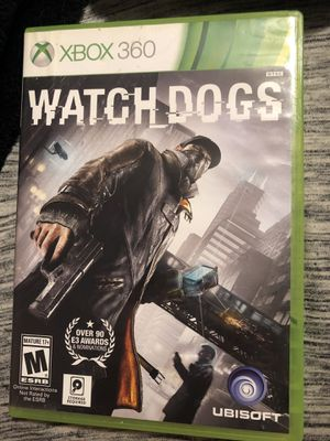 Watch dogs Xbox 360 game for Sale in Columbus, OH