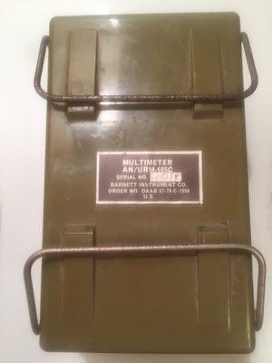 1958 Vintage military multimeter for Sale in Missoula, MT