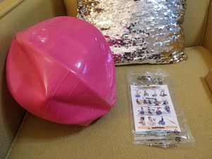 Gymnic Physio Balance Therapy Ball, 12 Inch, Pink, Holds 300 Pounds for Sale in Rossville, GA
