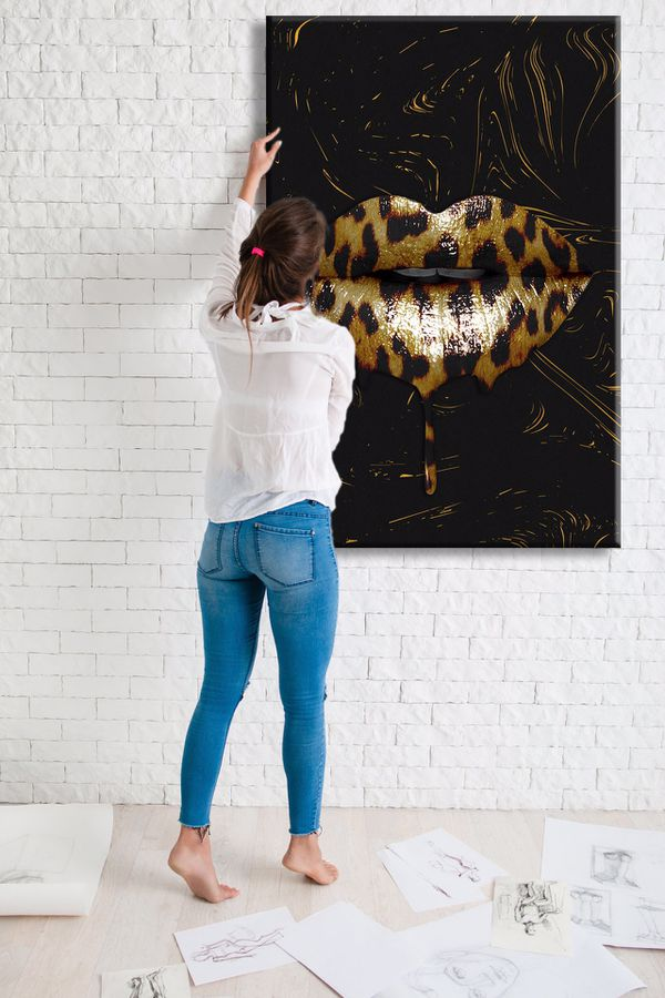 Modern Wall Art 700+ Museum Quality Canvas Paintings. Sizes Start @$89/ONLY $22 down! 👉ArtworkAddict(dot)com for Sizes+Sales! EZ Returns+💰Back!