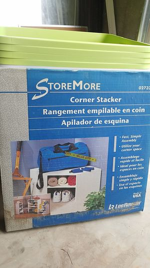 Store More Corner Stacker for Sale in Columbia, SC