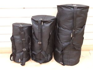 Round duffle bags, prices vary depending on size for Sale in Miramar, FL
