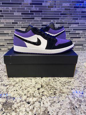 Nike Air Jordan 1 Low Court Purple Sz. 12 Deadstock for Sale in La Puente, CA