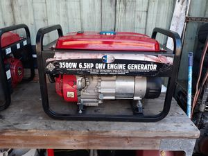 3500 w generator with 6.5 HP engine for Sale in Pembroke Pines, FL