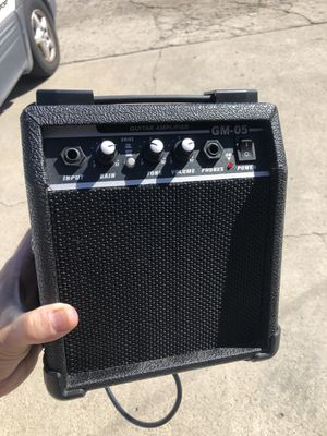 Guitar practice amp. Like new. Guitar tech tested. 👍🏻🎸 for Sale in San Diego, CA