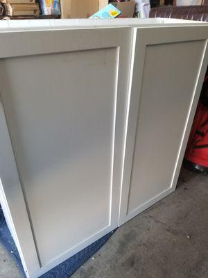 White wall cabinet for Sale in Hesperia, CA