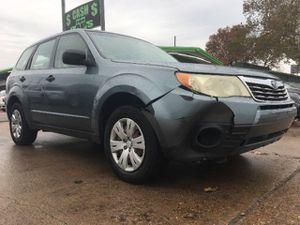 2009 Subaru Forester for Sale in Dallas, TX