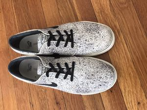 Nike SB Zoom Stefan Janoski PR Ivory & Black Speckle Skate Shoes Size 13 for Sale in Chicago, IL
