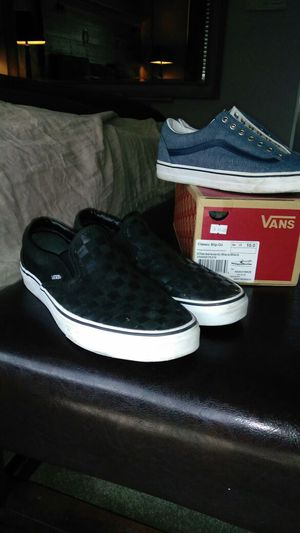 Vans, lightly used but too small for me for Sale in Cleveland, OH