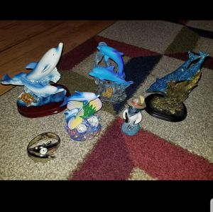 Large Variety Lot of Dolphin Figurines for Sale in Norwalk, CT