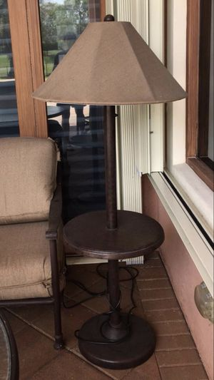 Outdoor lamp, table lamp cast aluminum for Sale in Cooper City, FL