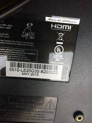 20 inch RCA TV With Remote for Sale in Cleveland, OH