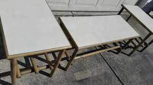 Set of Three Smaller Tables Vintage Mid-century for Sale in Hamilton, OH