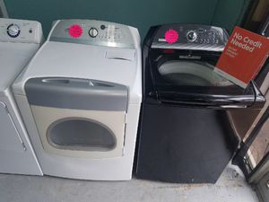 💥TODAY IS THE DAY!! GET THIS WASHER AND DRYER FOR $50 DOWN IF APPROVED, QUALIFICATIONS BELOW👇🏿READ💥 for Sale in Lithonia, GA