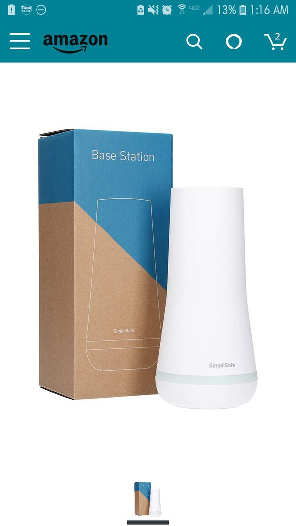 SimpliSafe Base Station Replacement - NEW IN BOX!!
