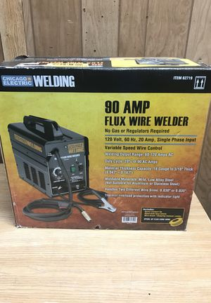 Chicago electric 90 amp flux wire welder for Sale in Chicago, IL