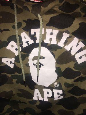 BAPE SWEATSHIRT A BATHING APE 🦍 XL for Sale in Temecula, CA