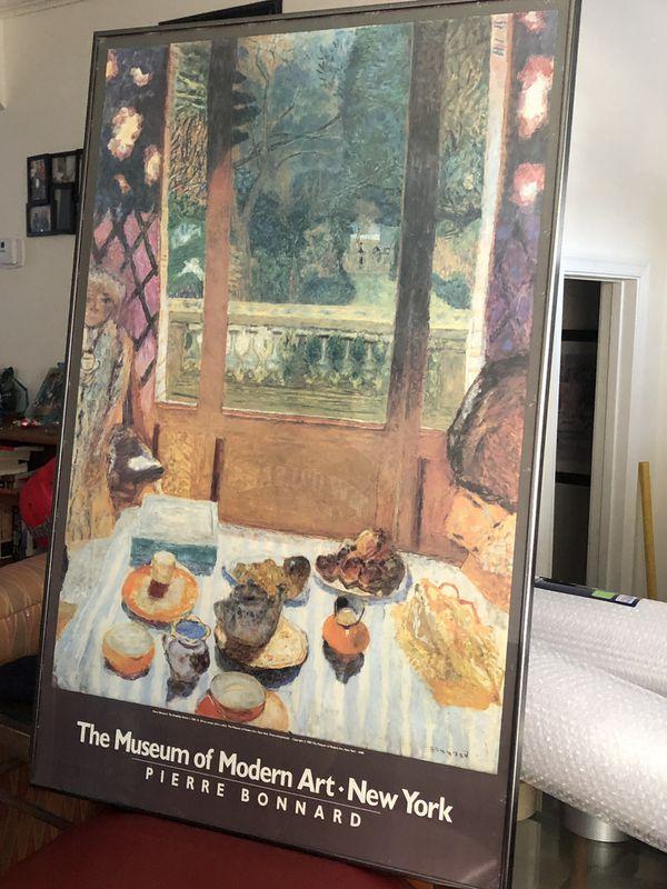 The Breakfast Room, Pierre Bonnard