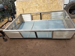 Smaller truck camper great condition win dr. Ows grommet and all things work best offer takes it for Sale in Phoenix, AZ