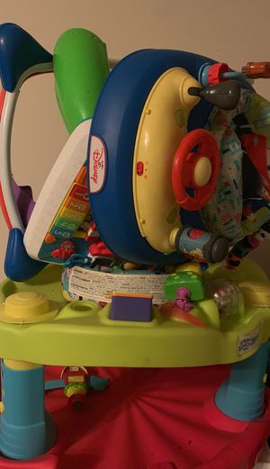MUST GO! Baby Toys $10 Exer Saucer and Disney Cars Walker for Sale in Houston, TX