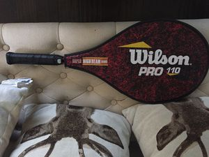 Wilson Pro 110 Super High Beam series tennis racket vibes control for Sale in Federal Way, WA