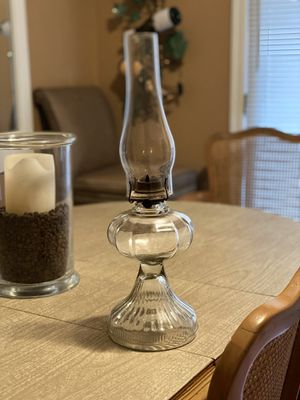 Glass Oil Lamp for Sale in Austell, GA