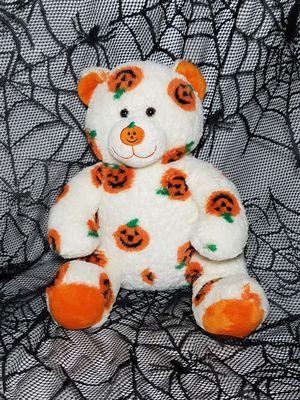 "Halloween 15"" Build A Bear Jack-O-Lantern Pumpkin Stuffed Teddy Plush Toy for Sale in Dale, TX"