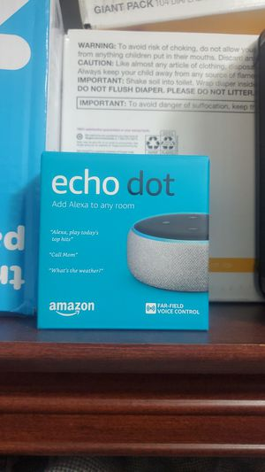 Amazon Echo Dot for Sale in San Bernardino, CA