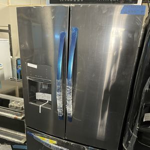 Brand New Frigidaire French Door 36in Black Steel -6 Months Warranty for Sale in Baltimore, MD