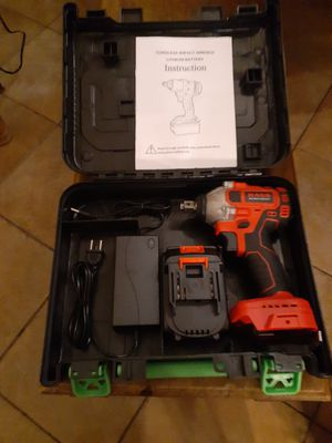 HANS 1/2 in Impact Driver Wrench for Sale in Colton, CA