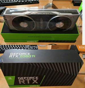 Nvidia RTX 2080Ti FE for Sale in Leland Grove, IL