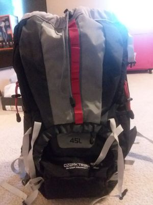 Its a backpack brand ozark trail can Hold 45L for Sale in North Las Vegas, NV