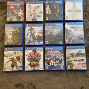 Playstation 4 Games ( $5 - $10 Each) for Sale in Arlington, WA