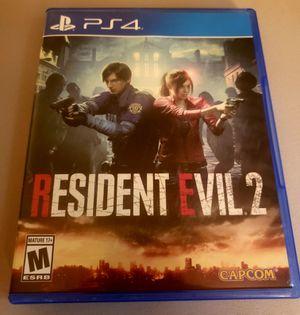 Resident Evil 2 PS4 for Sale in Richmond, VA