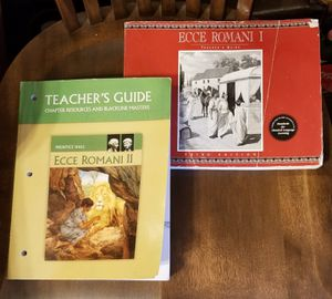 Great Hearts ECCE ROMANI I, II, & III Teacher Editions for Sale in Glendale, AZ