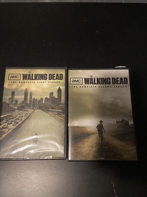 The Walking Dead DVD Seasons 1 & 2 for Sale. Message for prices. for Sale in Corona, CA