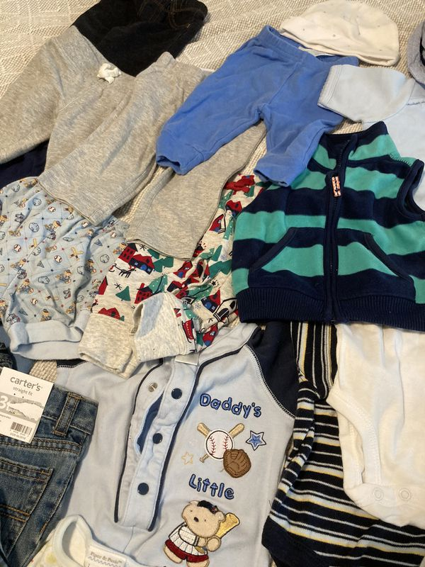 Lot 3-6 Month, 34 Pieces, Baby Boy Clothes
